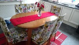 dining table with 6 chairs £100