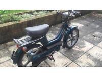 Piaggio Vespa Px Si Moped / Bicycle 49cc 2 Pounds for 130 Km UK Plated Beat Congestion Charge