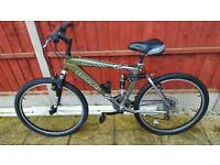 Fantastic 26inch aluminium frame silver fox mountain bike in good condition all fully working