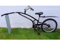 "Adams deluxe Trail-a-bike. single speed with 20"" x 1.9"" wheel size"