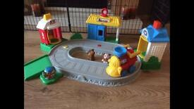 Fisher price train station