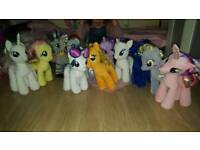 Large selection of My little ponys