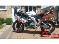 Rieju 125cc motorbike.
