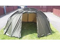 Selling my chubb splus 1 nan bivvy in mint condi has ground sheet and pegs its an excellent bivvy