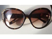 Jimmy Choo sunglasses, case and polish cloth