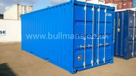 New build chemical storage shipping container, bunded / steel floor container – 20ft
