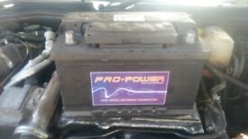 Car battery from vectra c 2years old