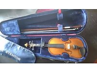 Stentor Violin 1/8 with case and bow.