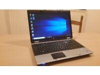 HP ProBook i3 4 GB Ram 160 GB Windows 10 & Office 2016 laptop