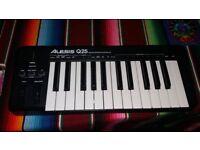 ALESIS Q25 USB MIDI CONTROLLER KEYBOARD