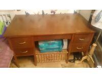 Solid Wood desk for sale!