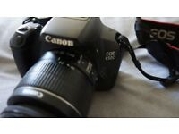 Canon EOS 650D / T4i Digital SLR camera + EF-S 18-55mm IS II Lens