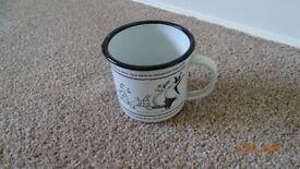 Speciality Joke Enamelled Tin Mug