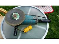 9 inch angle grinder used