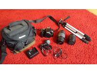 Canon EOS 1100D / EOS Rebel T3 12.2MP Digital SLR Camera - Black