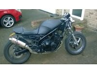 cafe racer look yamaha xj 600