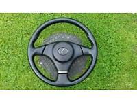 Lexus is200 steering wheel with airbag