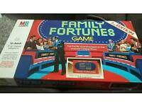 Family Fortunes Board Game - 1983