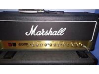 Made in UK Marshall JCM 2000 DSL 50 Head (made: Nov 1999) and 1936 2x12 Cabinet (made: Feb 2000)
