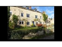 Two bright airy double rooms to let in charming Cotswold cottage