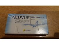 Acuvue Oasys Contact Lenses - brand new unopened box - 6 lenses