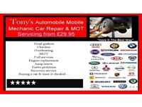 Mobile Mechanic with over 20 years experience fast & reliable service