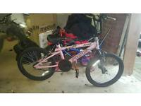 Girls Bmx (plus spares)