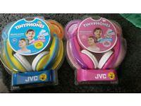 Jvc kids headphones new