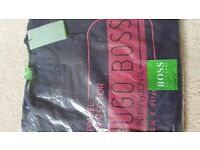 "BRAND NEW HUGO BOSS GREEN APPAREL FOR HUGO BOSS"" LONG SLEEVED NAVY COTTON T SHIRT Ad ID: 1195739071"