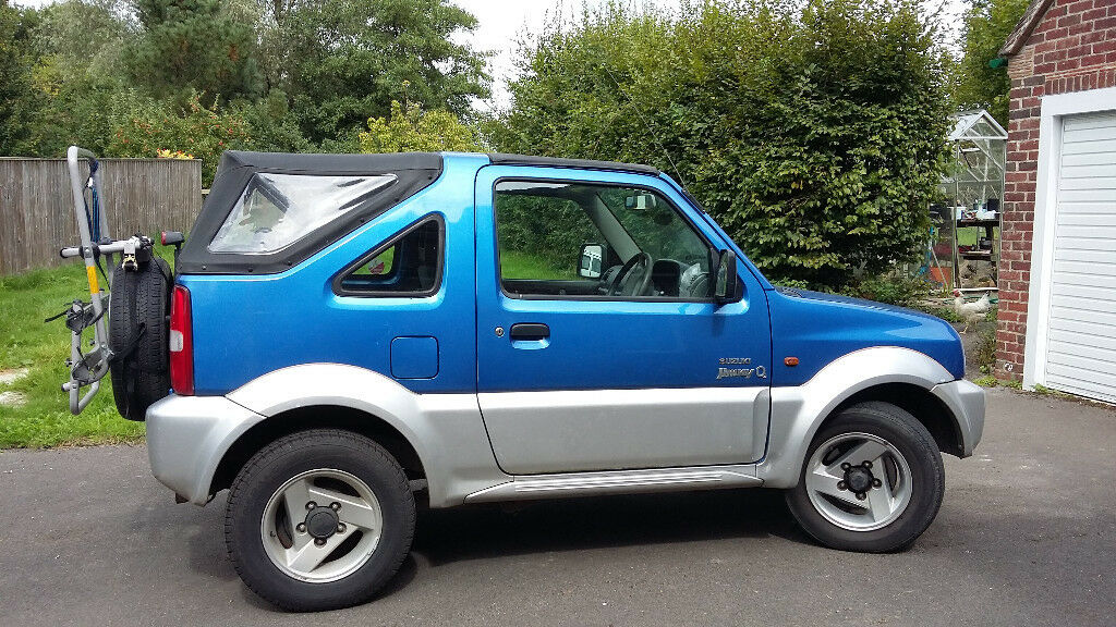 low mileage suzuki jimny convertible in shaftesbury dorset gumtree. Black Bedroom Furniture Sets. Home Design Ideas