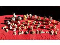 Pig Ornaments x 51 - Excellent Condition