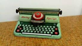 Vintage Mettoy Supertype children's typewriter