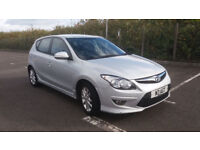 2011(61)HYUNDAI i30 1.6 CRDi COMFORT MET SILVER,6 SPEED,BIG MPG,£30 TAX,GREAT VALUE