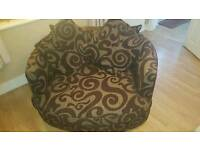 2 seater swivel chair.