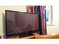 Samsung 50 inch 3d TV for sale.
