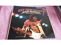 "Jimi Hendrix And Curtis Knight – Get That Feeling-Vinyl-London Records-Mono-""68"