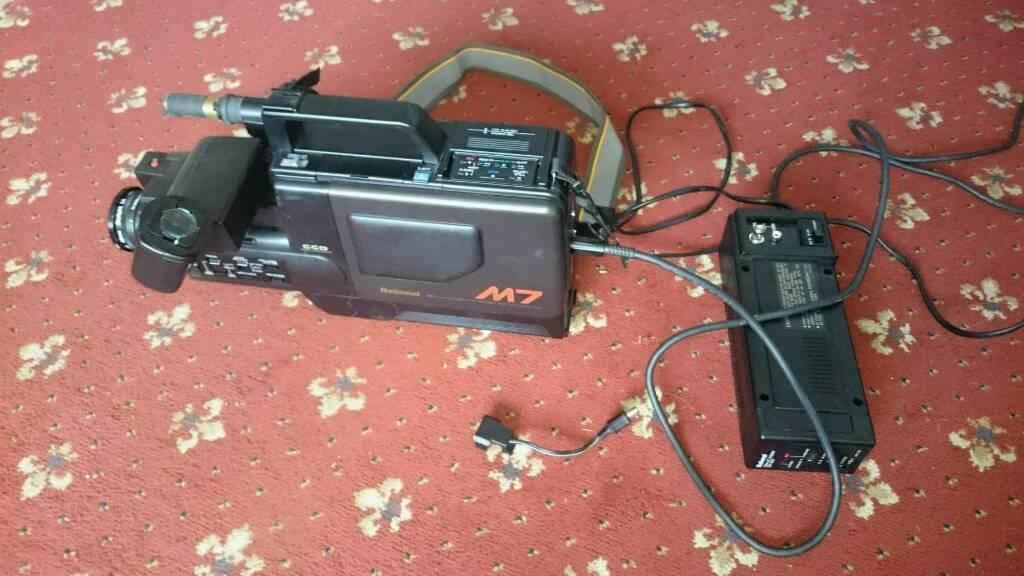 Vintage working NV-M7 National camera