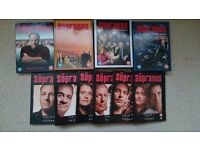 DVDs Sopranos Series 1-5