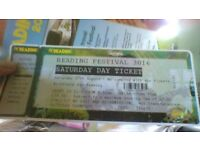 Reading festival, Saturday Day ticket. Red Hot Chili Peppers