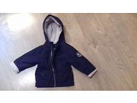Winter coat 18m Jacadi-Paris = £4