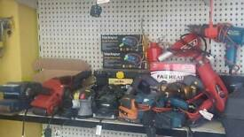 Huge clearance of tools sale new and used