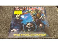 IRON MAIDEN - THE FINAL FRONTIER MINT IN SHRINK WRAP 2X LP PICTURE DISC 2010 LTD EDITION DOUBLE