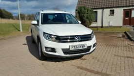 VW Tiguan 2012 Diesel 2.0 TDI SE BlueMotion 4Motion Rear DVD Players