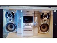 sony hifi 3cd changer/ FM/Casset
