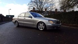Mercedes Benz S430 V8 airbags lorrinsors lowered