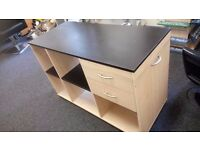 Beech effect sideboard / unit (has been sprayed black) £35 CHEAP local DELIVERY Stalybridge SK15 2PT