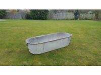 Vintage Tin Bath