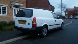 Vauxhall astra van. Long MOT.low mileage