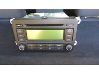 VW PASSAT B6 GOLF MK5 2005-2010 GENUINE RCD300 STEREO HEAD UNIT