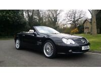 Mercedes SL500 Panoramic Roof Cream Leather,Amg Alloys